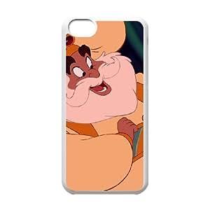 iPhone 5C Phone Case White Aladdin The Sultan YU9390963