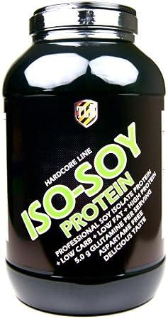 TLN Iso-Soy Protein Powder 3000 g (3 kg) vainilla, Vanilla flavoured, soya proteinas polvo, soja milkshake, aminoácidos, aspartame free