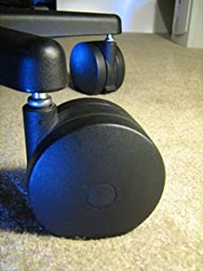 Amazoncom Miracle Caster Extra Large Chair Wheels 4 Set of