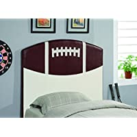 Coaster Home Furnishings Casual Twin Headboard, White and Brown
