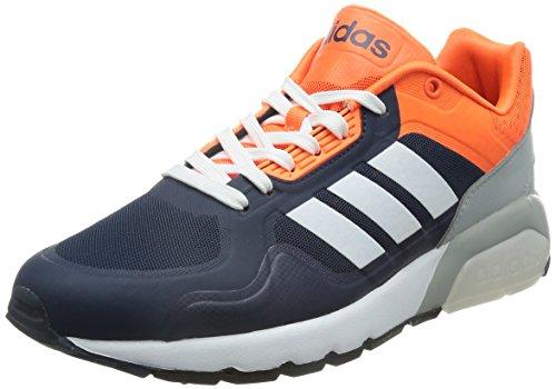 Blanc Tm Solaire Run9tis Bleu Chaussures Collégial De Marine Orange Footwear Adidas bleu Sport Homme a8WfAcpc