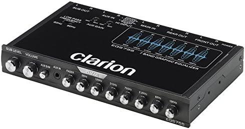 Clarion EQS755 7-Band Car Audio Equalizer