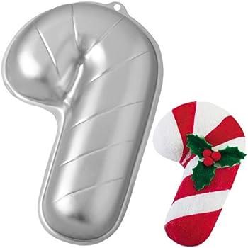 Amazon Com Wilton Candy Cane Holiday Christmas Cake Pan