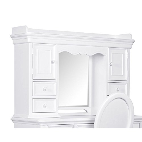 Samuel Lawrence SweetHeart Kids Hutch in (Mirror Back Hutch)
