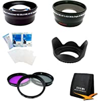 Special ULTIMATE 58MM WIDE ANGLE/TELEPHOTO LENS KIT