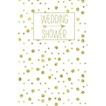Wedding Shower: Journal, White Gold Blank Wedding Planning Notebook, 110 Lined Pages, 5.25 x 8, Stylish Journal for Bride, Ideal for Notes & Ideas for Planning the Wedding, Perfect Engagement Gift, Wedding Shower, Bride to Be, Bridal Party Gifts