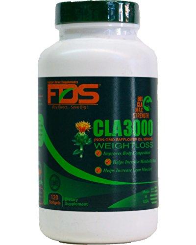 FDS CLA 3000, 120 capsules