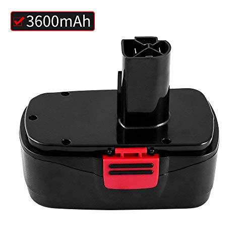Battery for Craftsman C3 19.2Volt 3.6Ah NiCd Replace for 130279005, 1323903, 11375 11376, 315.115410, 315.11485, 315.114850, 315.114852