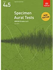 Specimen Aural Tests, Grades 4 & 5: new edition from 2011