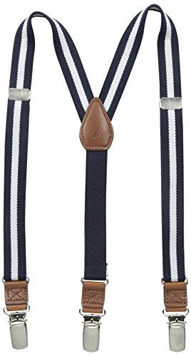 Nautica Boys Adjustable Striped Suspender