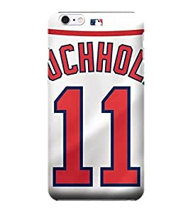 MLB-Boston Red Sox Skin Tough Phone Case Covers,Stylish Protective Covers Compatible For iphone 6(4.7)