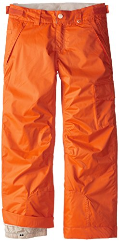 686 Girl's Agnes Insulated Pant, Large, Coral Colorblock