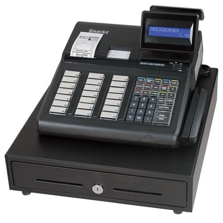 SAM4s ER-945 Cash Register with raised keyboard, with receipt and journal printers