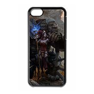 aarklash legacy iPhone 5c Cell Phone Case Black 53Go-457534