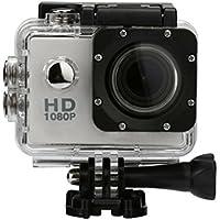 SMTSMT 2017 Waterproof Sports Recorder Car DV Action Camera Camcorder 1080P HD--Silver
