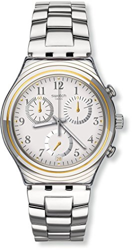 Swatch Irony Silvernow Silver Dial Stainless Steel Unisex Watch ()