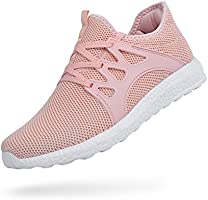 Feetmat Womens Fashion Sneakers Ultra Lightweight Breathable Mesh Athletic Running Shoes