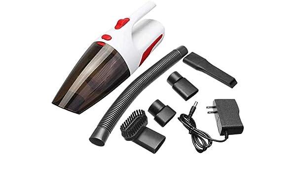 TD Aspirador del Coche 120W 12V Aspirador 5000PA Gran Succión Portátil Inalámbrico Limpio (Color : White): Amazon.es: Jardín