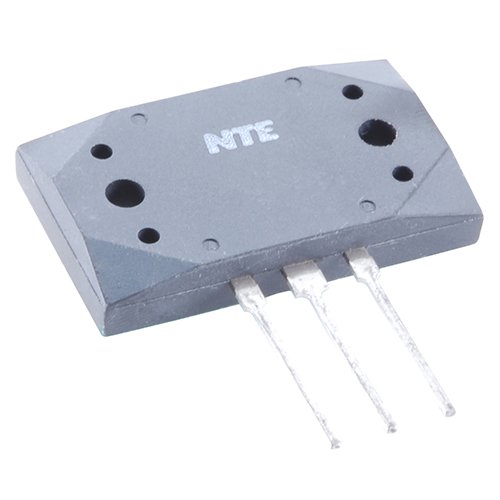 NTE Electronics NTE92 NPN Silicon Complementary Transistor for Hi-Fi Power Amplifier Audio Output, 3-Pin SIP Package, 15 Amp Collector Current, 200V Collector-Base Voltage
