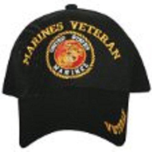 Hat bola Negro UU Marines Gorra Veteran ajustable EE xpvU1wqv0