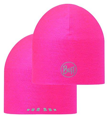 Buff Pink Fluor Coolmax Reversible Hat by Buff