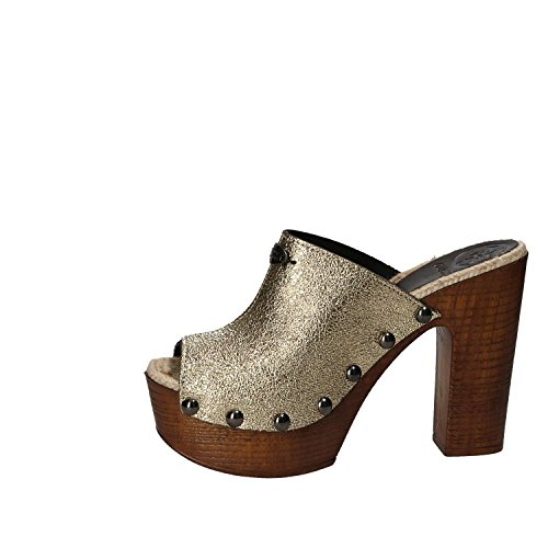 Guess Sandals Heeled High Yellow Women LEM01 FLGBY2 aIrBfa