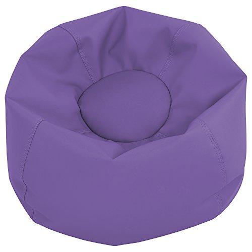 ECR4Kids Junior Classic Bean Bag, Purple (Junior Child Bean Bag)