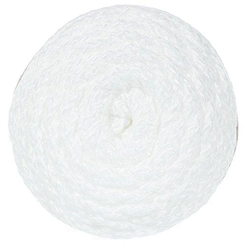 2 Pack Bonnie Macramé Cord - 6mm - 100 Yard Lengths (White)