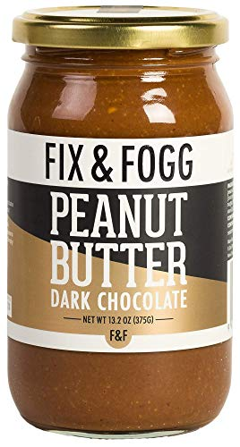 Gourmet Dark Chocolate Peanut Butter. Handmade in New Zealand from Fix & Fogg with 62% Dark Chocolate. Keto Friendly. Non-GMO. Superior Tasting Chocolate Spread. Low in Sugar (13.2 oz) (Best Peanuts In The World)