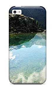 Fashion KbXIBYd700wTLKr For HTC One M7 Case Cover (nature Reflections)