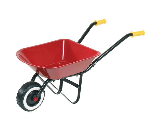 Children's Classic Metal Wheelbarrow by Goki