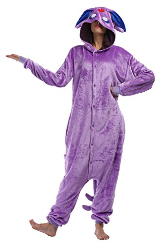 Adult Onesie Animal Pajamas Unisex Cosplay Kigurumi Costume Plush Cute Sleepwear