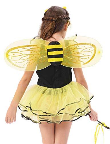 94efc4419 IKALI Bumble Bee Costume for Girls