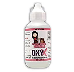 OxyX - Pommy Mommy Alkaline Drops - Strengthen Immune System in Your Dog or Cat. 100%! (2oz)