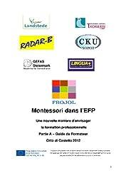 Montessori dans l'EFP - Guide du Formateur