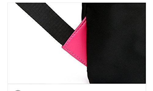 Bolso de hombro de tela de Oxford / bolso de nylon salvaje de los estudiantes universitarios de los estudiantes universitarios de la manera coreana de la manera ( Color : Negro , Tamaño : 26*11*39cm ) Gris