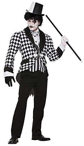 Forum Novelties Harlequin Tailcoat Adult Costume Standard (Harlequin Halloween Costumes Uk)