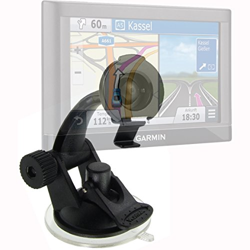 ChargerCity Car Boat Dash Articulate Sticky Suction Cup Mount for Garmin Nuvi 54 55 55LMT 56 56LMT 57 (Gps 2598)