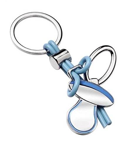 Ten Llavero Chupete Azul cod.EL7577 cm 10x4,5x1,5h by ...
