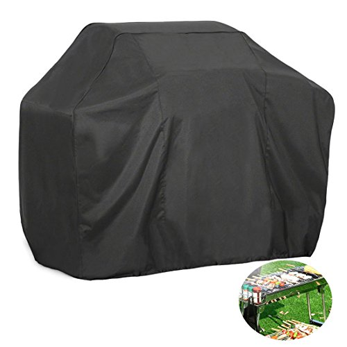 FLR Gas Grill Cover Large XL 66 inches Black Waterproof Outdoor Barbeque Grill Covers bbq Gas Grill Cover Char Broil Patio Bistro