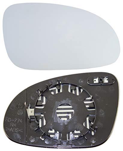 Taros Trade 57-0361-R-51393, Cristal de Retrovisor Calefactable Lado Derecha,