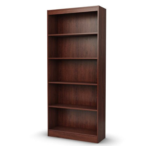 (South Shore 5-Shelf Storage Bookcase, Royal)