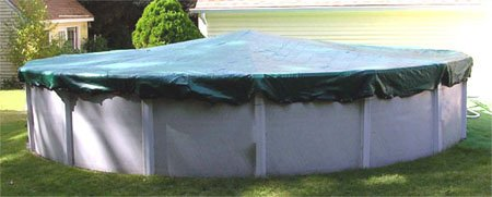 Bronze Arctic Armor Winter Cover for 12ft x 28ft Oval Above Ground Pool, Appliances for Home
