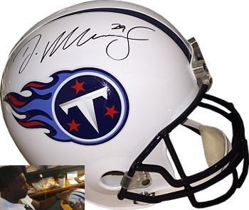 Demarco Murray Signed Helmet - Riddell Full Size Replica #29 Hologram - Autographed NFL Helmets Athlon