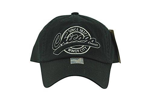 Chicago Cap Since 1837 Windy City Black