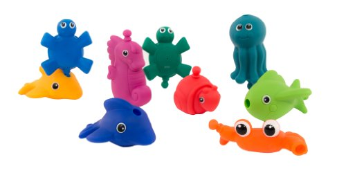 Sassy Snap and Squirt Sea Creatures (Infant Toy Bath Sassy)