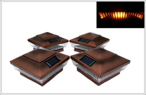 Copper Finish Solar Lights in US - 3