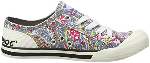 Grey Rocket Multicolore paisley Collo Dog Jazzin Sneaker A Basso Donna UvZxqSw
