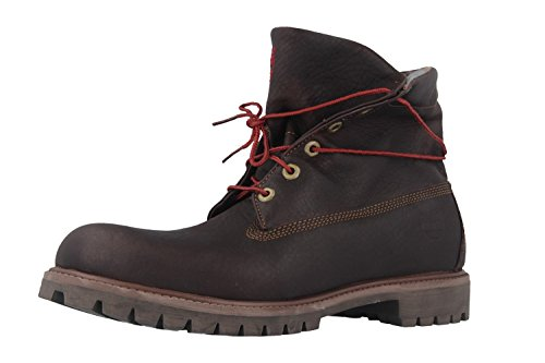 Lf in Mens Timberland Roll Top Dark Brown Boots nxzwgx4O