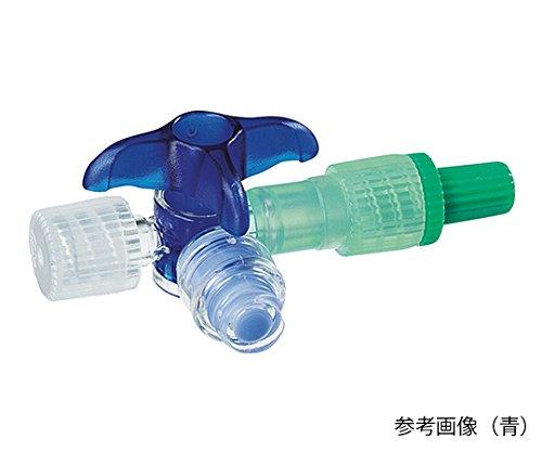 ディスコフィックスC バルブ付 (ニードルレスバルブ付三方活栓) 青3バー360° 延長チューブなし /7-3487-01 B07BFGY1G4